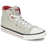 British Knights  DEE  women's Shoes (High-top Trainers) in White