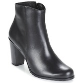So Size  JOTTA  women's Low Ankle Boots in Black
