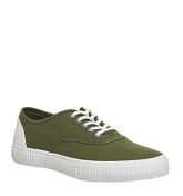 Fred Perry Barson Canvas OLIVE PORCELAIN