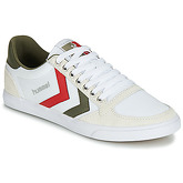 Hummel  DEUCE COURT SPORT LO  women's Shoes (Trainers) in White
