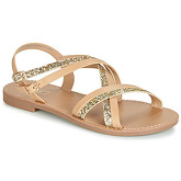 Only  MANDALA CROSSOVER  women's Sandals in Beige