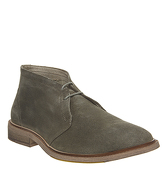 Ask the Missus Lazy Chukka SAGE SUEDE