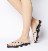 UGG Simi Graphic Flip Flop BLACK