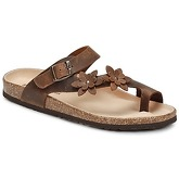 Dream in Green  MINIK  women's Flip flops / Sandals (Shoes) in Brown