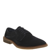 Ask the Missus Lazy Derby NAVY SUEDE