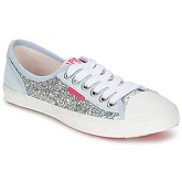 Superdry  GLITTER LOW PRO  women's Shoes (Trainers) in Silver