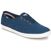 Keds  CHAMPION DOT EYELET  women's Shoes (Trainers) in Blue