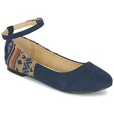Moony Mood  FRILOU  women's Shoes (Pumps / Ballerinas) in Blue