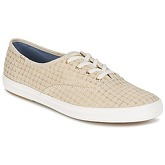 Keds  CHAMPION FOIL TICKING DOT  women's Shoes (Trainers) in Beige