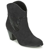 Moony Mood  ELSE  women's Low Ankle Boots in Black