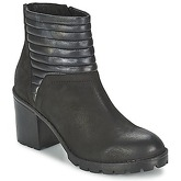 SPM  DROPSHOT  women's Low Ankle Boots in Black