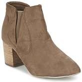 Eclipse  CALLY  women's Low Ankle Boots in Brown