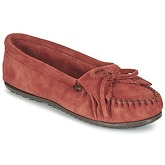 Minnetonka  KILTY  women's Loafers / Casual Shoes in Red