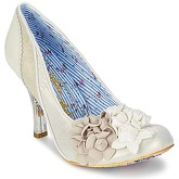 Irregular Choice  MRS LOWER  women's Court Shoes in Beige