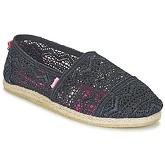 Superdry  JETSTREAM LACE ESPADRILLE  women's Espadrilles / Casual Shoes in Black