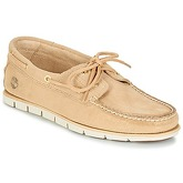 Timberland  TIDELANDS 2 EYE  men's Boat Shoes in Beige