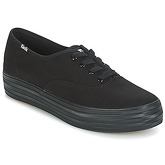 Keds  TRIPLE  women's Shoes (Trainers) in Black