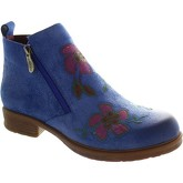 Laura Vita  Anita 02  women's Low Ankle Boots in Blue