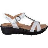 Mephisto  P5118600 Wedge sandals Women White  women's Sandals in White