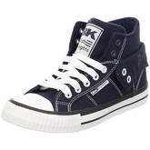 British Knights  Roco Canvas  women's Shoes (High-top Trainers) in Blue