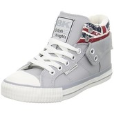British Knights  Roco  women's Shoes (High-top Trainers) in Grey