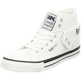 British Knights  Roco Canvas  women's Shoes (High-top Trainers) in White