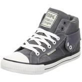 British Knights  Roco Washed  women's Shoes (High-top Trainers) in Grey