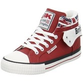 British Knights  Roco  women's Shoes (High-top Trainers) in Red