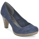 Marco Tozzi  FANDERSO  women's Court Shoes in Blue