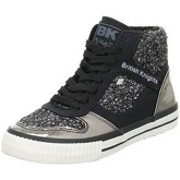 British Knights  Snapper  women's Shoes (High-top Trainers) in Black