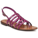 Dream in Green  ARTYU  women's Sandals in Purple