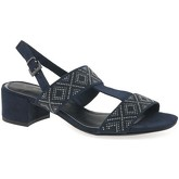 Marco Tozzi  Vermeer Womens Stud Sandals  women's Sandals in Blue