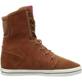 Le Coq Sportif  - Voya Mid Plus - Brown  women's Shoes (High-top Trainers) in Grey