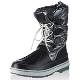 Le Coq Sportif  - Minka Snow Boot - Black  women's Snow boots in Black