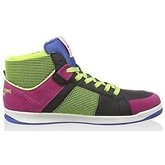 Le Coq Sportif  - Toulouse Mid - Black/Multicolour  women's Shoes (High-top Trainers) in Multicolour
