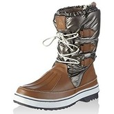 Le Coq Sportif  - Minka Snow Boot - Taupe Grey  women's Snow boots in Grey