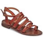 Dream in Green  IRVINA  women's Sandals in Brown