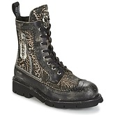 New Rock  DEGUI  women's Mid Boots in Black
