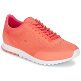 Lacoste  HELAINE RUNNER 117 2  women's Shoes (Trainers) in Orange
