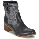 Meline  ALESSANDRA  women's Low Ankle Boots in Black