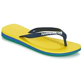 Havaianas  BRASIL LAYERS  men's Flip flops / Sandals (Shoes) in Yellow