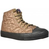 Mustang  TYWIN  women's Shoes (High-top Trainers) in Gold