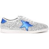 London Rag  Tiffany  women's Shoes (Trainers) in Silver