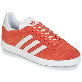 adidas  GAZELLE  men's Shoes (Trainers) in Orange