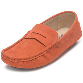 Reservoir Shoes  Moccasins suede look to put on  men's Loafers / Casual Shoes in Orange