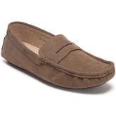 Reservoir Shoes  Moccasins suede look to put on  men's Loafers / Casual Shoes in Beige
