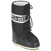 Moon Boot  MOON BOOT NYLON  women's Snow boots in Black