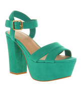 Office Jargon GREEN SUEDE