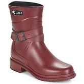 Aigle  MACADAMES MID  women's Wellington Boots in Red