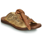 Airstep / A.S.98  RAMOS  women's Mules / Casual Shoes in Gold